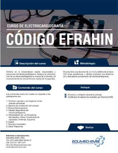 Edumed-ems - Código EFRAHIN (Eje-Frecuencia-Ritmo-Arritmias